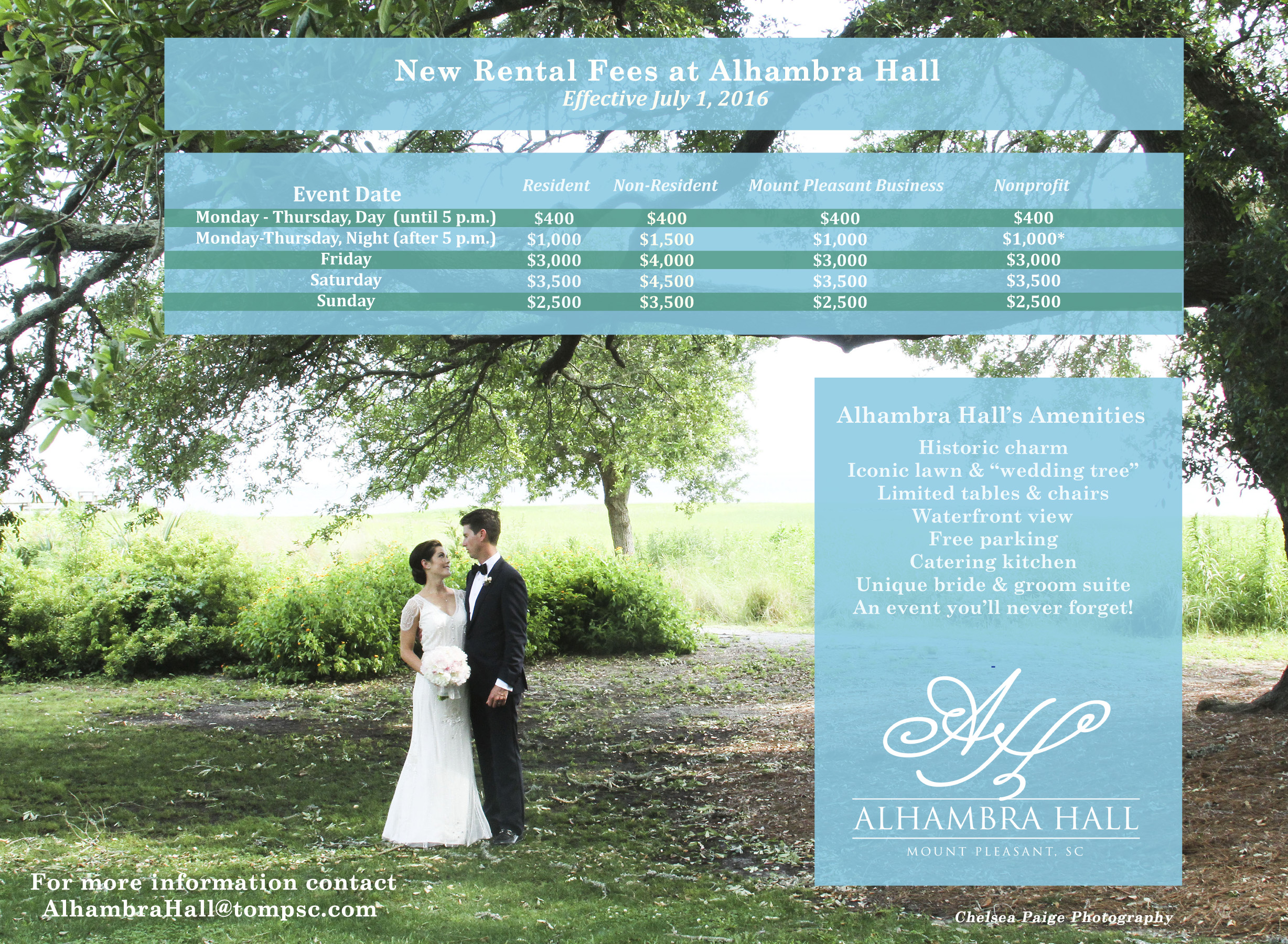 Alhambra Hall ficial Weddings & Event Bookings